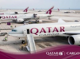 Qatar Airways Cargo convoy carrying 300 tonnes of aid from around the world departed in a three-aircraft cargo convoy from Doha to India, as part of the freight carrier's WeQare initiative