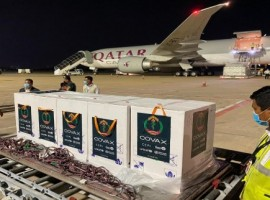 Qatar Airways Cargo surpassed a milestone of transportation of 10 million Covid-19 vaccines, including Covid-19 vaccines for UNICEF as part of the five-year MoU to support UNICEF's Humanitarian Airfreight Initiative.