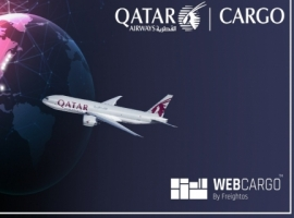 The world's largest cargo airline will provide forwarders in the USA with real-time pricing, capacity, and eBookings via WebCargo.  The eBooking platform will be managed by Freightos, effective 19 July 2021.