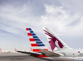 Qatar Airways announce that the first stage of its strategic partnership with American Airlines has begun with Qatar Airways placing its code on American Airlines' domestic flights