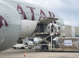 Qatar Airways has now introduced an air bridge between Vietnam and France. Through this arrangement, eleven Boeing 777 freighters will operate from Hanoi in the month of May