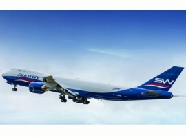 Silk Way West Airlines to launch its second service from India. Every Thursday, Boeing-747F service will operate from Mumbai to Baku. It has a weekly service connecting Baku with Delhi Indira Gandhi International Airport  by Boeing-747F flights.