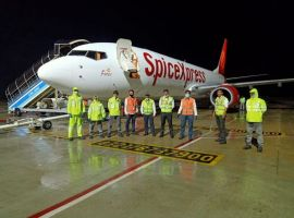 SpiceJet operated its maiden cargo flight from Hyderabad, India to Moscow carrying over 16 tonnes of pharma supplies.