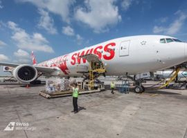 SWISS has conducted a total of seven charter cargo flights from Shanghai (China) to Switzerland on behalf of the Swiss Red Cross.