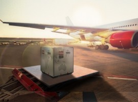 Virgin Atlantic has today announced that it partnered with the pharma containers manufacturer SkyCell to contribute to its safe, secure, and sustainable shipment of valuable vaccines and pharma products.