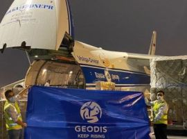 Volga-Dnepr Airlines and GEODIS recently completed a large charter program to deliver urgent supplies of facemasks and PPE to France, operating a series of 48 x Antonov-124 flights within a 90-day period between April and June 2020.