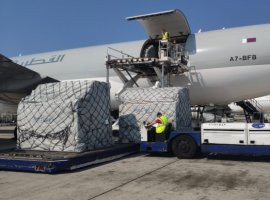 Worldwide Flight Services' (WFS) cargo handling team in Paris has been rapidly processing shipments of personal protective equipment (PPE) delivered by Qatar Airways Cargo for hospitals across France treating Covid-19 patients.