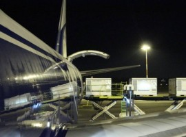 Alha Group enabled smooth loading of 18 active containers onboard spacious Boeing 747F operated by CargoLogicAir.