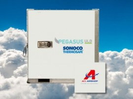 Sonoco ThermoSafe and ACL Airshop have announced a global agreement for the handling and repair of Sonoco ThermoSafe's Pegasus ULD bulk temperature co