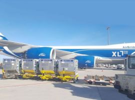 AirBridgeCargo Airlines (ABC), part of Volga-Dnepr Group, has transported a record number of RKN containers onboard its Boeing 747-8F.