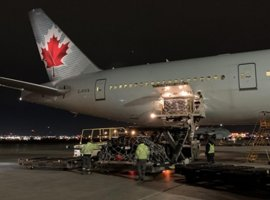Air Canada joined a growing number of airlines using the grounded wide-body passenger aircraft to ferry cargo to key destinations around the world. The flag carrier and the largest airline of Canada by fleet size and passenger carried operated its first Boeing 777 passenger aircraft as a freighter from Canada to German