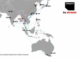 The additional capacity will strengthen its route network between China, India and Southeast Asia and offer improved connectivity to and from Teleport's long-haul markets.