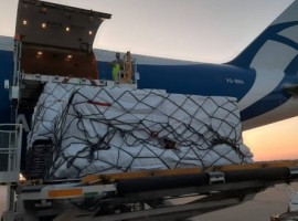 The Russian air cargo airline organised a dedicated pharma charter flight from Leipzig (Germany) to Guangzhou (China) through Novosibirsk (Russia).