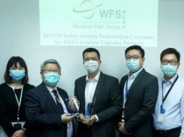 The Airport Authority Hong Kong has awarded three annual safety awards to Worldwide Flight Services (WFS) for fostering the airport's safety culture and enhancing safety awareness in the workplace.