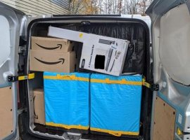 Amazon's team from the European headquarters in Luxembourg partnered with the Robert Schuman Hospital by dedicating a team of experts to navigate logistics challenges in the current Covid-19 crisis situation
