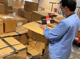 American Airlines has donated supplies to hospitals in New York, Massachusetts and Tennessee.
