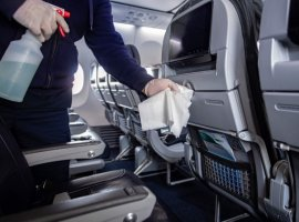 American Airlines is updating and enhancing its cleaning procedures on board and will begin offering personal protective equipment to customers