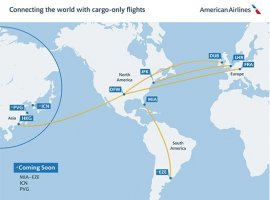 American Airlines is expanding its cargo-only operation to provide over 5.5 million pounds of capacity