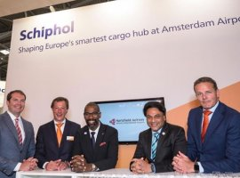 June 6, 2019: Amsterdam Airport Schiphol (AMS), Netherlands' main international airport, has signed MoU with Hartsfield-Jackson Atlanta International Airport (ATL) to promote cargo trade and investment between the two gateways. The MoU will enable an exchange of data between AMS and ATL to facilitate end-to-end planning and capacity optimisation, extend the benefits of the AMS […]