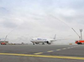 ANA Cargo launched its first dedicated Boeing 777 freighter flight from Tokyo to Frankfurt