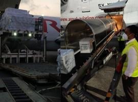 Today at 04.50 a.m. GMT, Astral Aviation took off its inaugural flight from Chhatrapati Shivaji Maharaj International Airport Mumbai, India to Sanaa International Airport, Yemen with three different vaccine shipments.