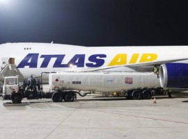 The Atlas Air Flight 562 was powered by a blend of fuel containing 2.33 per cent SAF sourced from fresh vegetable oil.