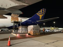 Atlas Air has taken the lead in the White House's Project Airbridge, funded by the Federal Emergency Management Agency (FEMA), for several charters to multiple destinations in the US.