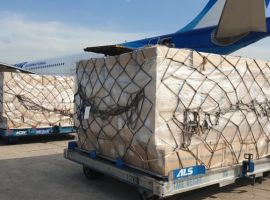 Bolloré Logistics transported over one million protective masks from Vietnam to Réunion on June 7, 2020, with 1,382 boxes onboard, for a total volume of 138 cubic meter.