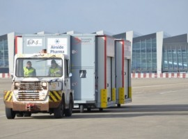 Brucargo, the cargo division of Brussels Airport, has set up a task force to prepare for scenarios for the import and export of vaccines.