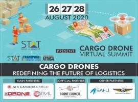 STAT Media Group, with its three publications, The STAT Trade Times, Logistics Update Africa and Indian Transport & Logistics News is organizing a three-day cargo drones virtual summit from Aug 26-28.