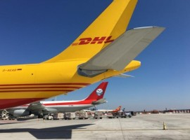 Brussels Airport reported an increase in air freight volumes transported for the second consecutive month, up 9.9 percent compared to the same period last year.