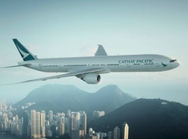 The inaugural flight will see Cathay Pacific Cargo using its Boeing B747-400 ERF aircraft. Flights will operate once per week every Tuesday with a stopover in Dubai (DWC) on the return flight to Hong Kong,