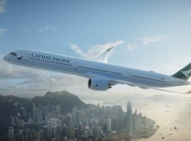 Cargo revenues at Cathay Pacific and Cathay Dragon topped passenger revenue and accounted for HK$11,177 million in the first half of 2020, up 8.8 percent from the same period a year ago.