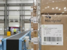 Starting in December, Its multi-user facility at Max Park, Corby, in the UK, will provide a solution enabling Mölnlycke to be even more responsive to customer requirements and offer an enhanced service.