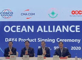 January 10, 2020: CMA CGM Group has launched Ocean Alliance Day 4 Product, which will further strengthen the group's service offer. The new offer will start in April 2020. Rodolphe Saadé, chairman and CEO of the CMA CGM Group did the signing with the executives of COSCO SHIPPING, Evergreen, and OOCL. Through Ocean Alliance, CMA […]
