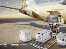 Jettainer's cool&fly will further streamline Etihad Cargo's processes from ordering cool ULDs to global management and on-time delivery.