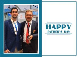 On the occasion of Father's Day, Maik Zimmer, son of Ingo Zimmer, CEO of ATC Aviation is all praises for his father who has been his role model and mentor.