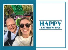 This Father's Day, Sara van Gelder can't stop raving about her father's level of energy and spontaneity that has taught her never to shy away from any challenge.