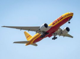 DHL Express will receive six new Boeing 777F-200 cargo aircraft this year. The first of these planes to come in 2020 landed last Thursday at its future base of operations, the Cincinnati/Northern Kentucky International Airport (CVG).