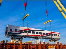 DHL will manage the end-to-end transport of the coaches, each weighing 48 tons and measuring 24.5 metres in length, as well as 4.5 meters in height.