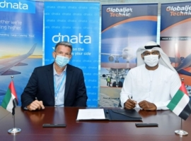 The partnership will see dnata promote GJT's quality and reliable services, offering its 150 customers a one-stop-shop of ground handling, cargo and technical services at Dubai International (DXB) and Dubai World Central (DWC) airports.