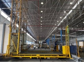 Designed to handle an annual turnover of 550,000 tonnes, the facility will incorporate new advanced ULD handling equipment and control technology, replacing and enhancing existing warehouse fittings.