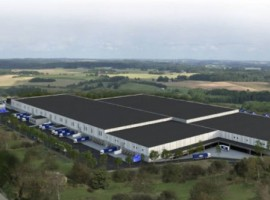 The new site in Rosersberg north of Stockholm in Sweden offers an entire range of transport and logistics services and will be ready for use by the end of 2021.