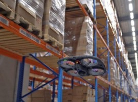 The autonomous drone system helps DSV minimise disruption and improve quality of warehouse operations.