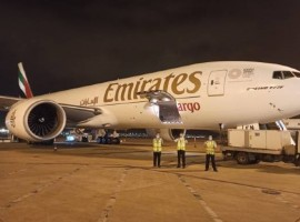 Emirates SkyCargo supported the uplift of thousands of tonnes of essential commodities including face masks, gloves, other protective gear and equipment such as ventilators manufactured in China to destinations across six continents.