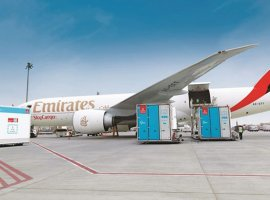 Emirates SkyCargo carries relief material, Covid-19 testing kits, perishables and critical medical supplies