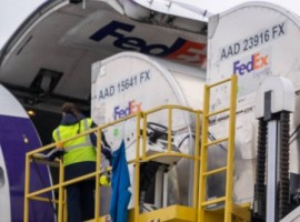 It will begin transport of the vaccine and kits of supplies for administration of the vaccine, using its FedEx Priority Overnight service supported by FedEx Priority Alert advanced monitoring.