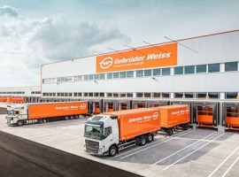 The international transport and logistics company Gebrüder Weiss has opened a new location in Kalsdorf near Graz / Austria.