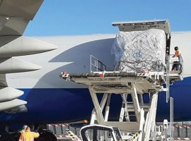 GEFCO has moved 750 tonnes of spare parts from China to France in eight chartered flights.