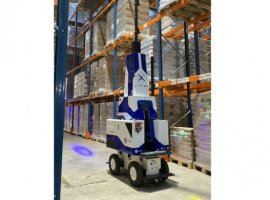 """GEODIS and Delta Drone launched """"GEODIS Countbot,"""" an innovative warehouse-inventory solution, which is a stabilised automated system that includes a drone and is able to do inventory and inventory control."""